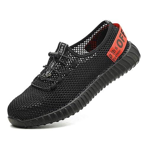 Sicherheitsschuhe Arbeitsschuhe Für Sommer Stahlkappe S3 Atmungsaktiv Sneaker