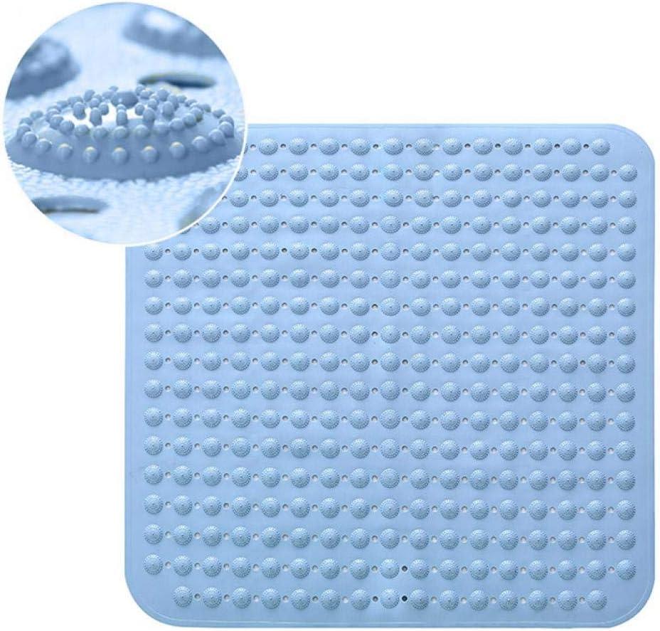 Badewannenmatte Antibakteriell maschinenwaschbar Wannenmatte Anti-Fungal Saugnapf Fu/ßmatte Anti-Rutsch-Duscheinlage mit Saugn/äpfen Weiche Duschmatte 80 x 80 cm f/ür Duschzimmer rose Einheitsgr/ö/ße