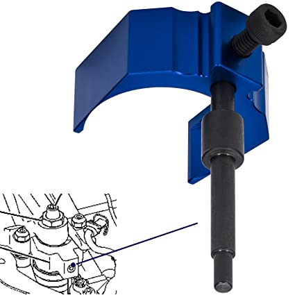 Camoo For Caterpillar Injector Height Adjustment Gauge Tool CAT Engine Tool  As 9U-7227 Fits CAT 3406E, C-15 and C-16 (Blue)
