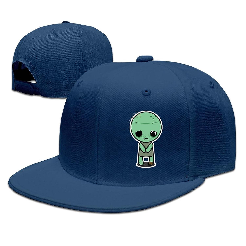 HNN Unisex Cute Zombie Flat Baseball Cap Hat