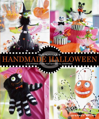 Glitterville's Handmade Halloween: A Glittered Guide for Whimsical Crafting!]()