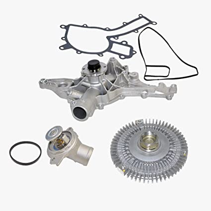 Amazon.com: Water Pump Fan Clutch Thermostat Kit for Mercedes-Benz E420 E430 E55 AMG ML430 ML55 AMG SL500 OEM ORIGINAL 1122001501/1192000222/1122030275 ...