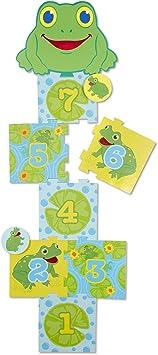 Melissa & Doug Sunny Patch Skippy Frog Hopscotch Action Game, Multi Color