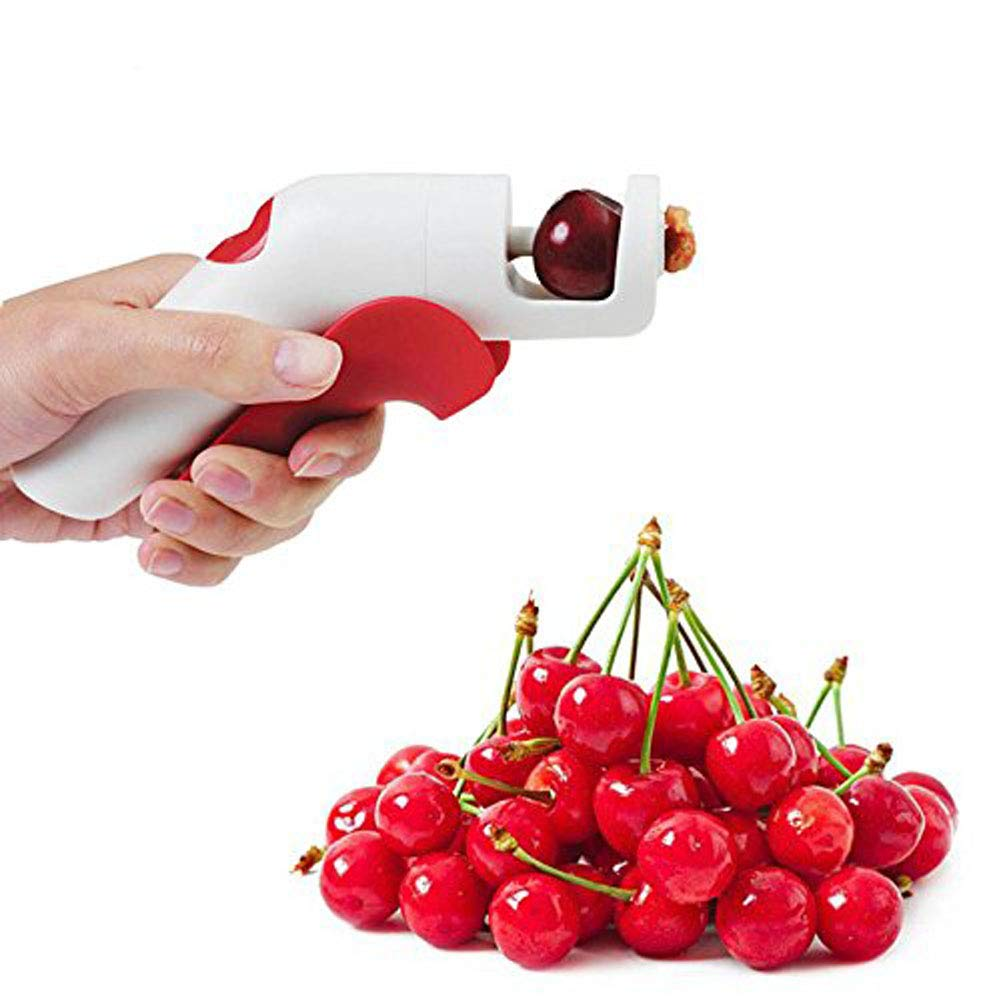 Xiangtat Creative cerises Pitters Plastique outils de fruits rapide retirer Cherry Seed Removers Enucleate Keep complet