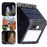 OUBAO 2017 20 LED Solar Power PIR Motion Sensor Wall Light Outdoor Garden Waterproof Lamp