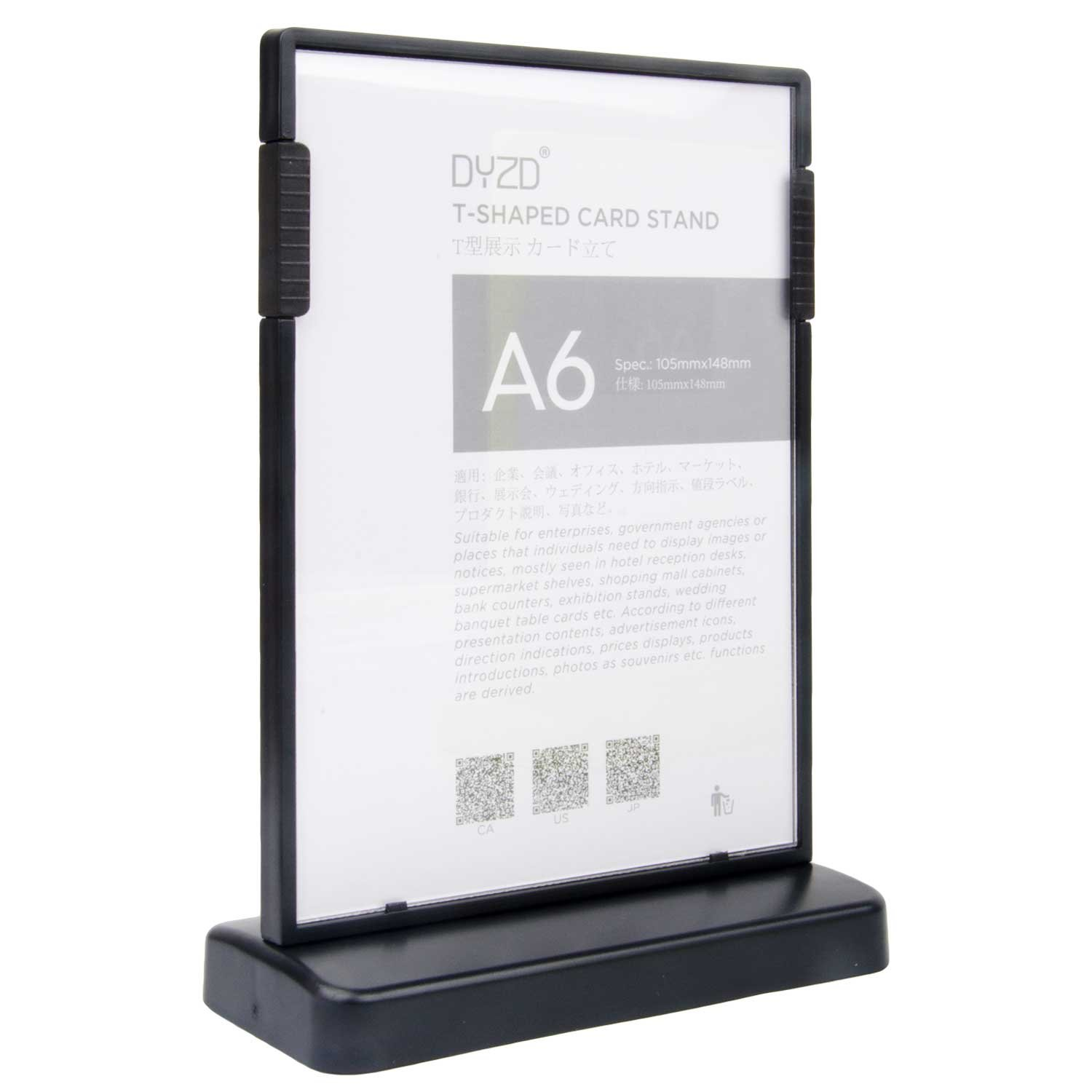 Exhibition Stand Information : Amazon.com : dyzd sign display holder t shaped double sided table