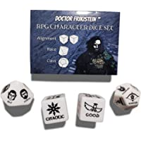 Doctor Frikistein RPG Character Dice Set | 4