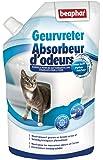 Beaphar - Absorbeur d'odeurs en granulés - litière du chat - 400 g
