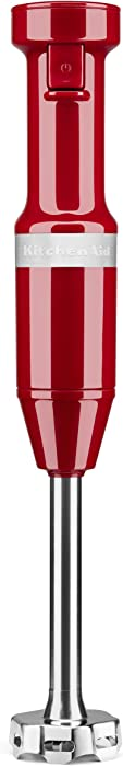 KitchenAid KHBV53ER Variable Speed Corded Hand Blender, Empire Red