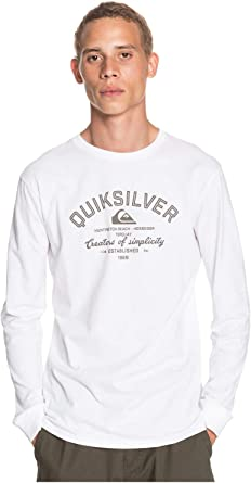 Quiksilver Creators of Simplicity - Camiseta de Manga Larga para Hombre: Amazon.es: Ropa y accesorios