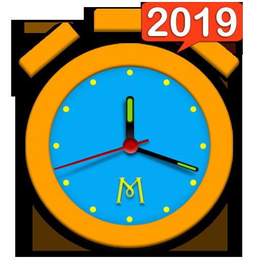Alarm Clock & Timer & Stopwatch & World Clock