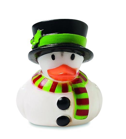 Set Badeenten im Weihnachts-Outfit Gummiente Quietscheente Weihnachtsdeko 4-tlg