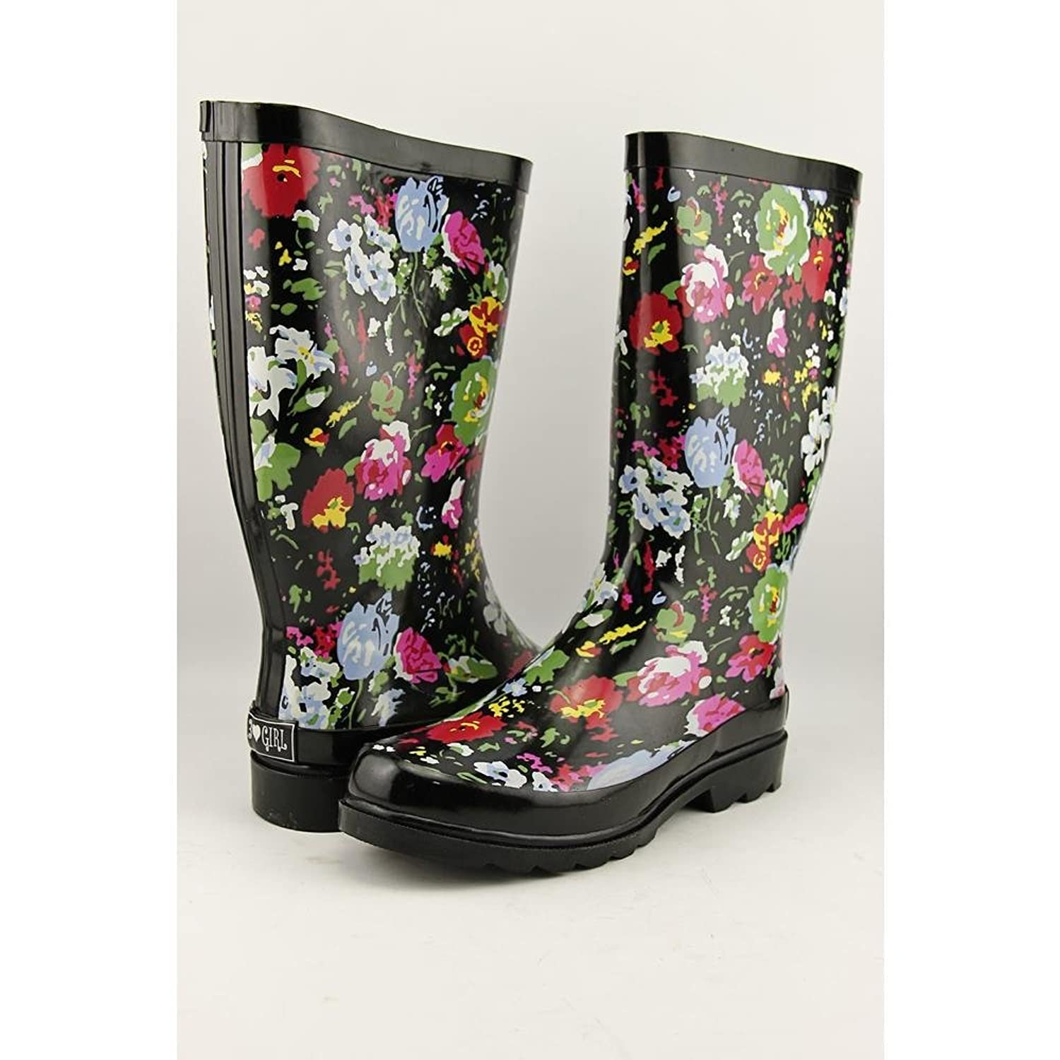 143 Girl Talory Women US 9 Multi Color Rain Boot