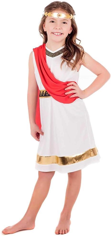 Fun Shack Blanca Diosa Griega Disfraz Para Niñas - S: Amazon.es ...