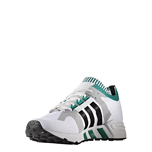 official photos c7450 5e781 adidas Originals Equ Cushion 9 Mens Trainers WhiteGreenBlack - WhiteGreen