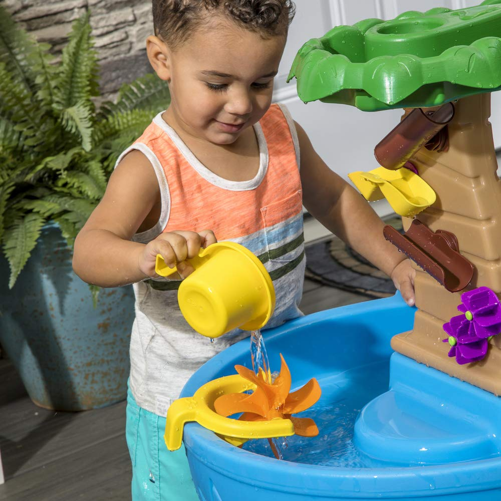 Step2 Tropical Rainforest Water Table | Colorful Kids Water Play Table with 13-Pc Accessory Set by Step2 (Image #5)