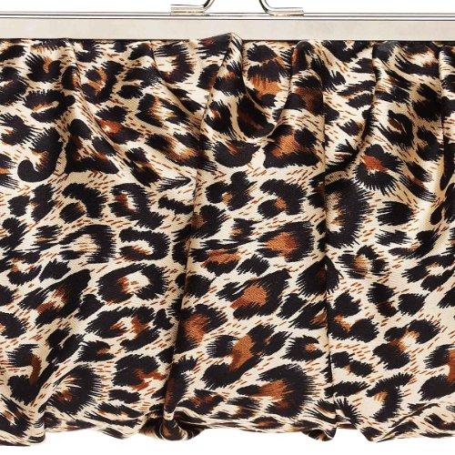 Lisbeth Dahl frizione borsa leopardo
