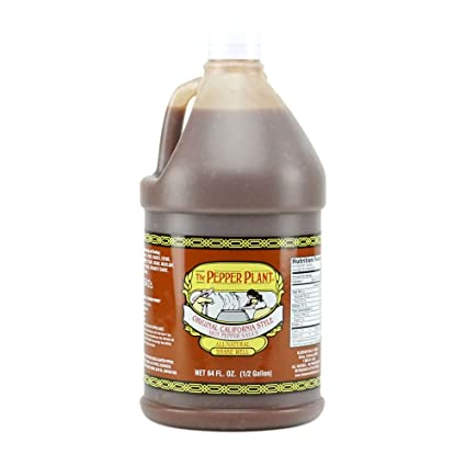 67009a5de9ee0 Amazon.com   The Pepper Plant Original California Style Hot Sauce  1 2-gallon Jug   Grocery   Gourmet Food