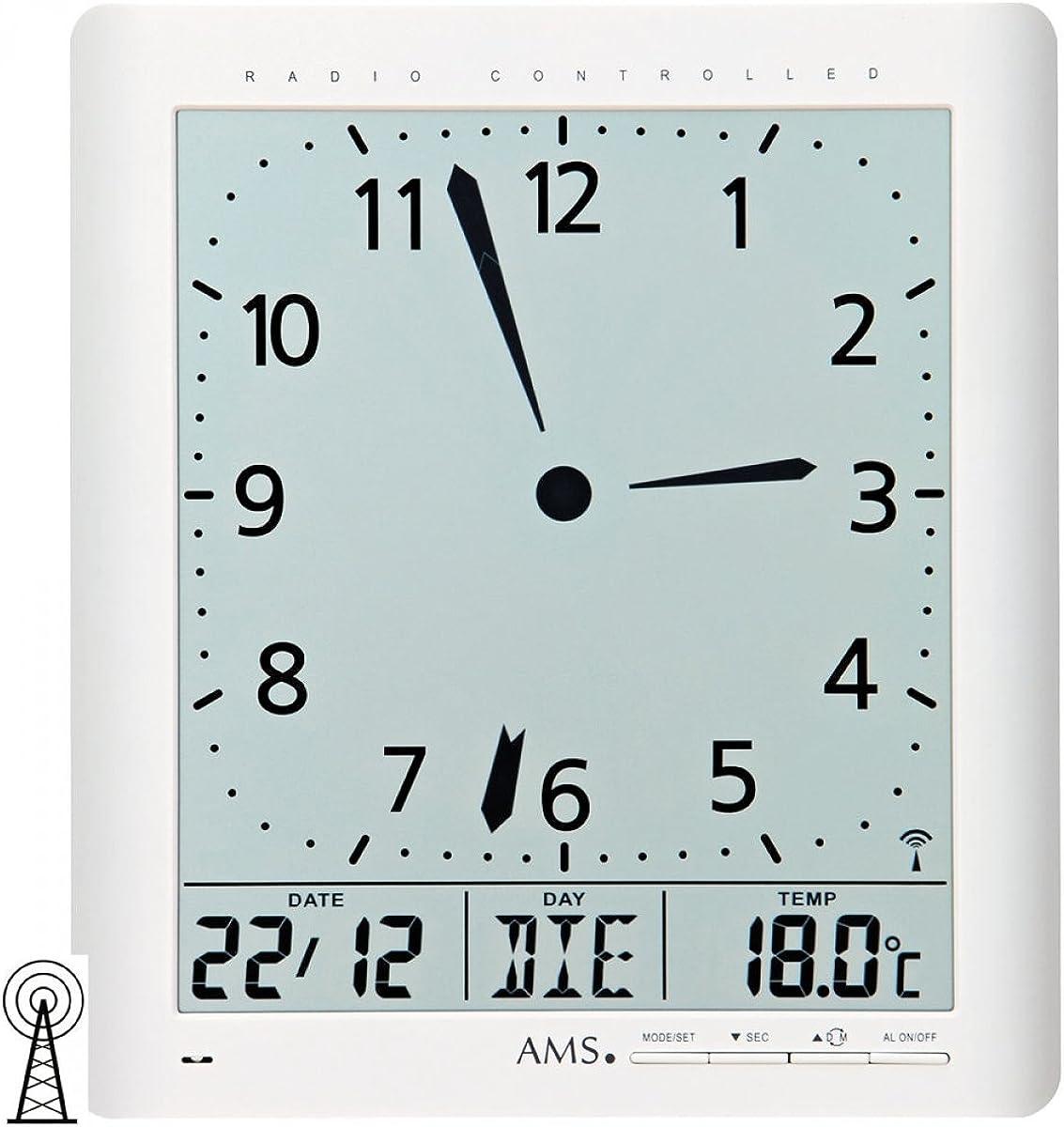 AMS Reloj Analogico-Digital para Unisex 5896