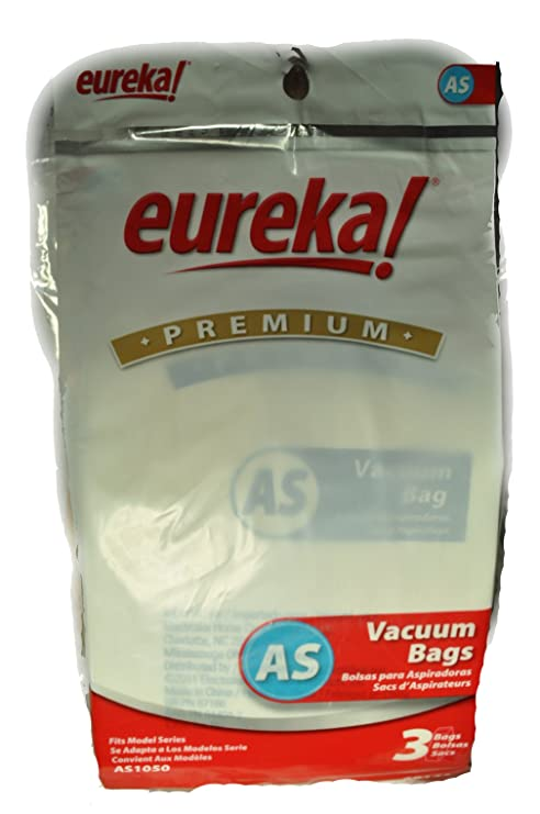 Eureka Type AS Vacuum Cleaner Bags AS1050, 68155-6, E-66655