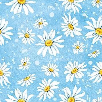 33 x 33 cm 3-ply Paper Napkins Dandelion Blue Pack of 20 Ambiente Luncheon size