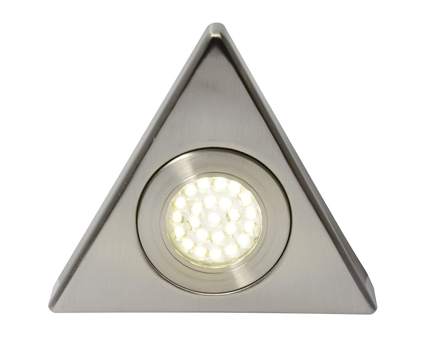 Forum Lighting FONTE LED, Mains Voltage, Triangular Cabinet Light, 3000K Warm White CUL-25319 Forum Lighting Solutions