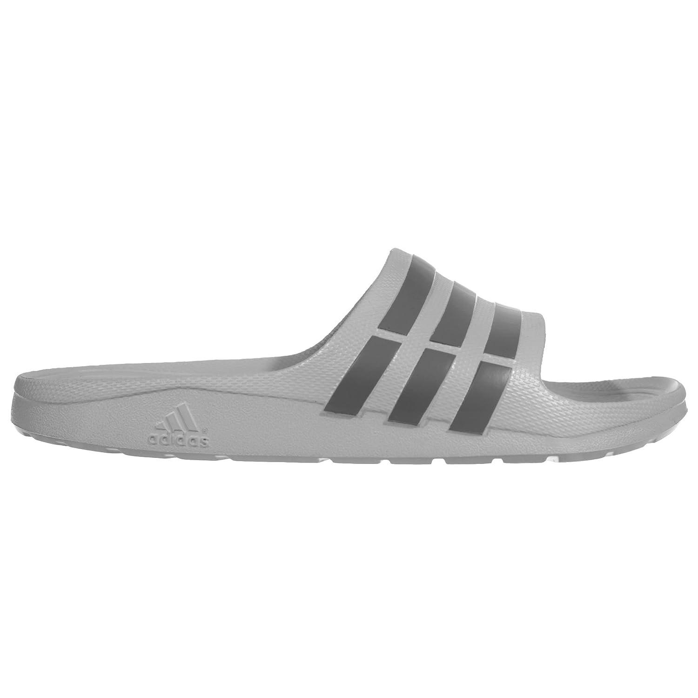 ab9c73a97 adidas Duramo Slide Mens Flip Flop Sandal Grey