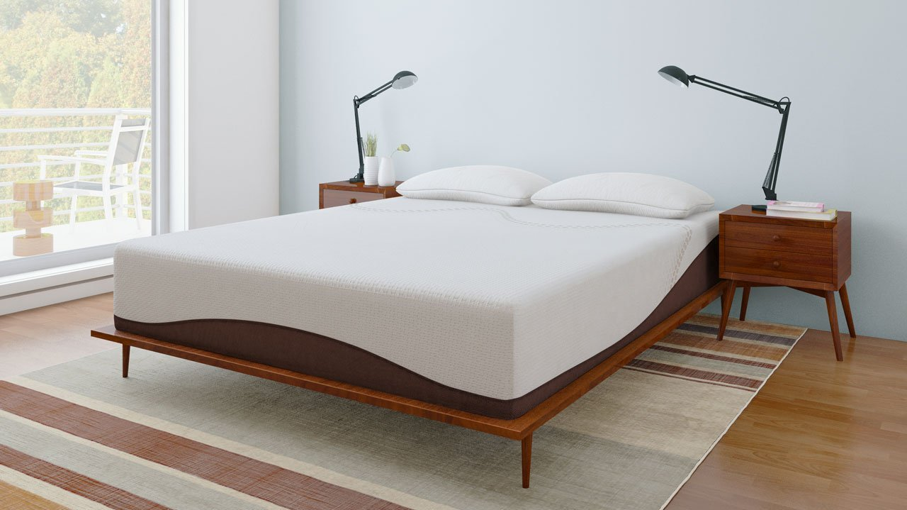 Second Hand Bedroom Furniture Melbourne Amazoncom Amerisleep Revere 12 Natural Memory Foam Mattress