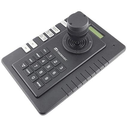 PTZ teclado controlador con 3d Joystick para CCTV Velocidad Domo Cámara Pelco-D P