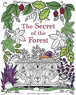 The Secret Of Forest Search For Hidden Pieces Jewellery A Colouring