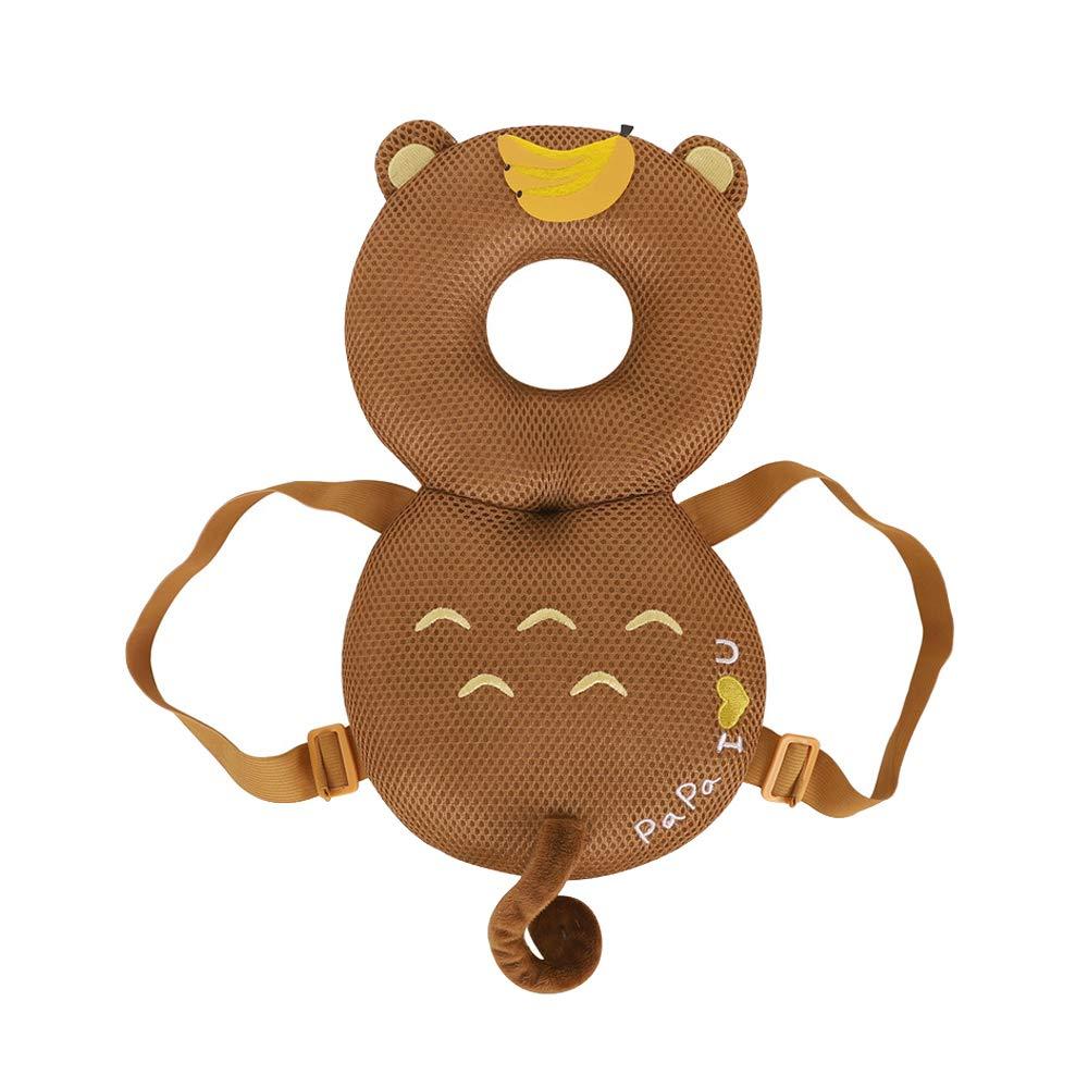 Toddlers Protector Baby Adjustable Head Shoulder Safety Pad Ladybug Hensy