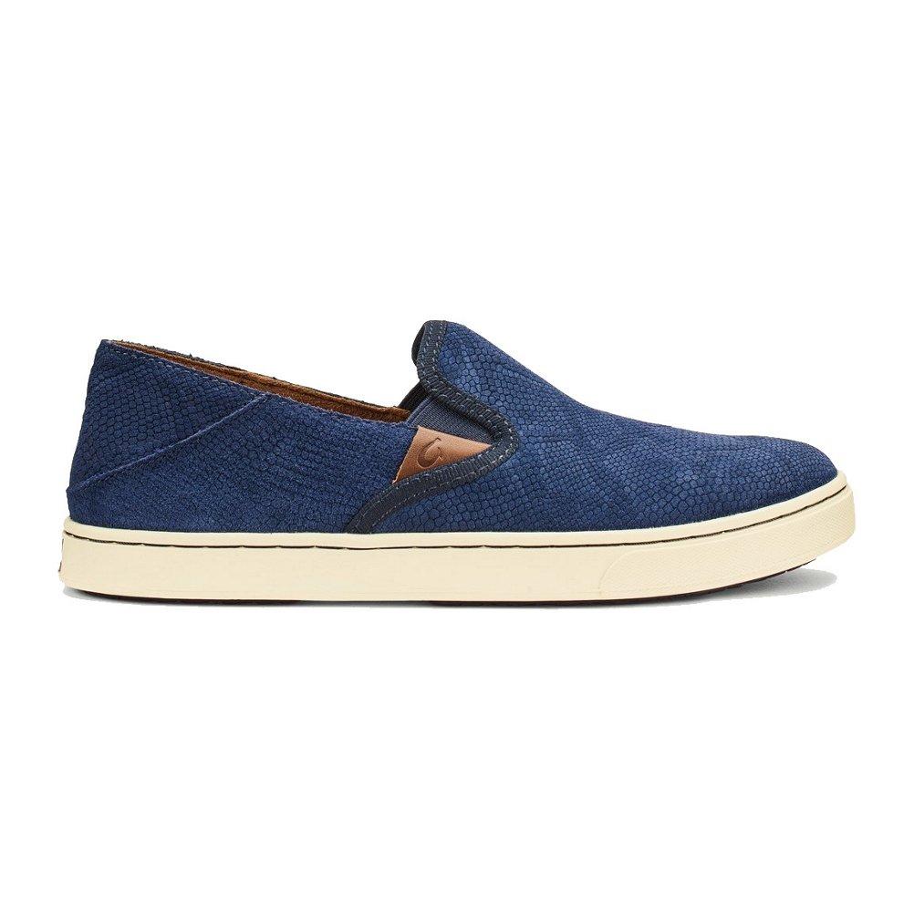 OLUKAI Pehuea Shoes - Women's B01MYZT9HU 6 B(M) US|Trench Blue Honu/Trench Blue