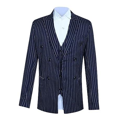 Traje para hombre de 2 piezas Smoking con chaleco y chaqueta ...