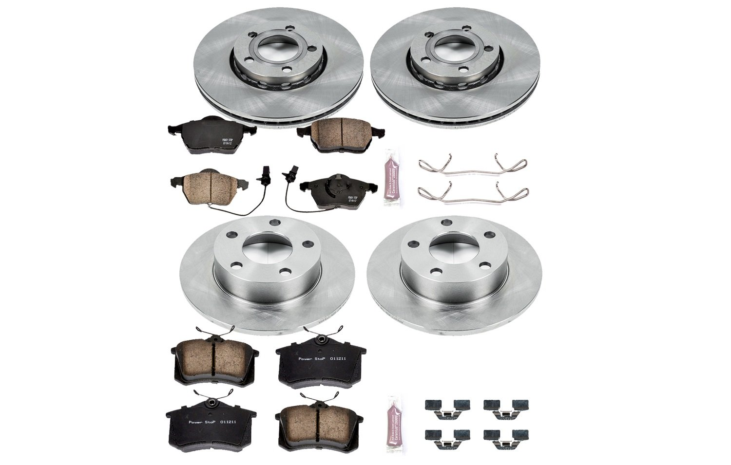 Autospecialty KOE2800 1-Click OE Replacement Brake Kit