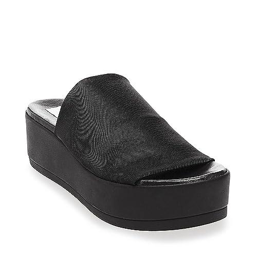 f16813162b0 Amazon.com | Steve Madden Women's Slinky Platform Sandal | Slides