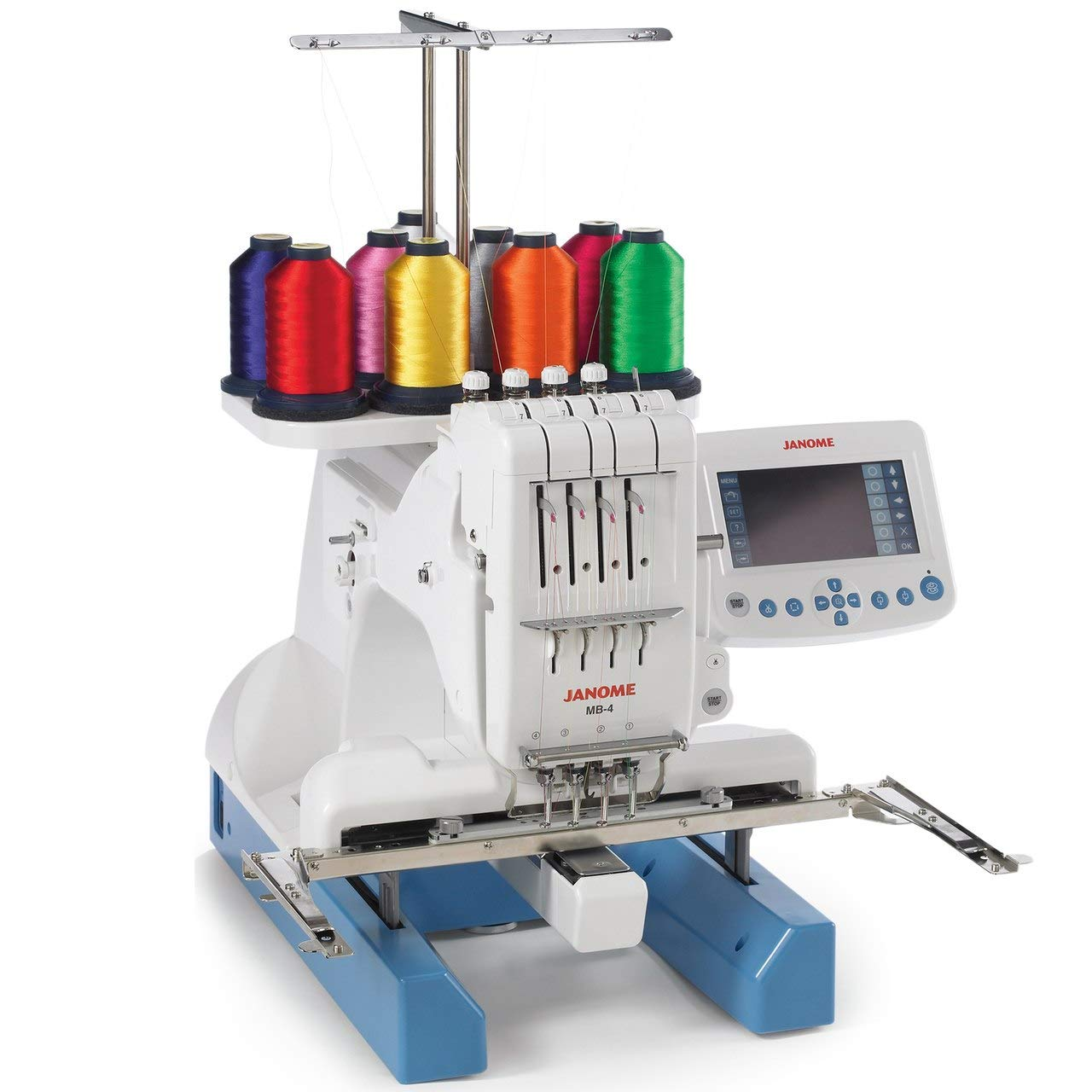 Janome MB-4N 4 Needle Embroidery Machine Includes Bonus Accessories
