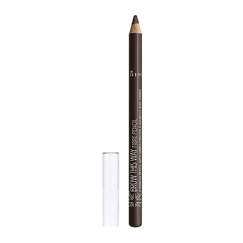 Rimmel London Brow This Way Fibre Pencil, 1.1 g, Medium