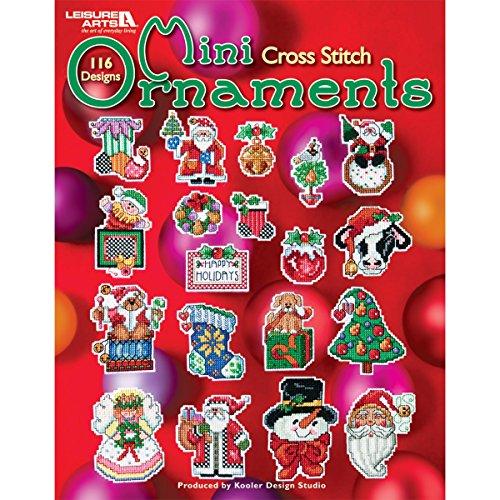 LEISURE ARTS-Mini Ornaments to Cross Stitch