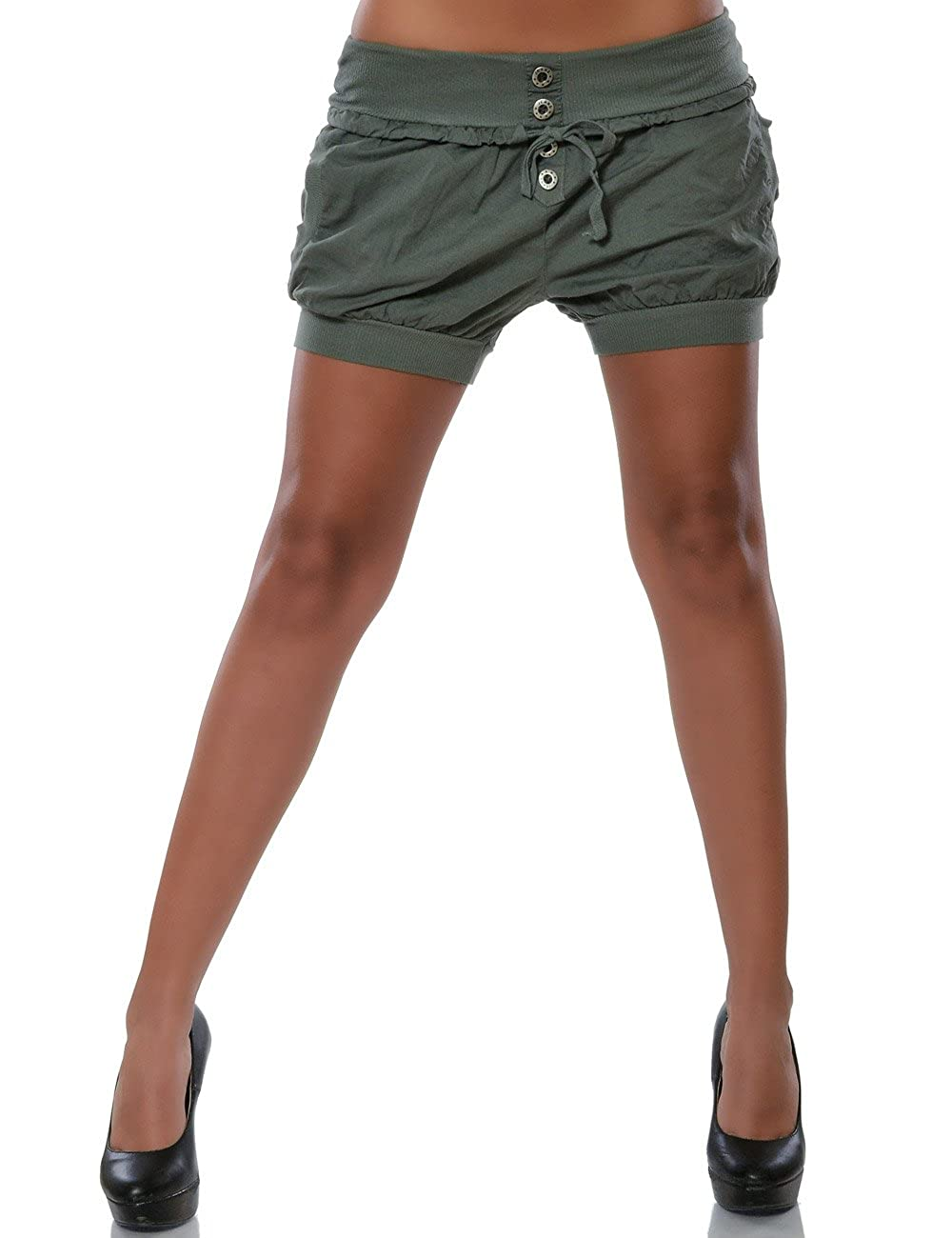 Damen Shorts Hot-Pants Kurze Sommer Hose DA 15655 DA15655