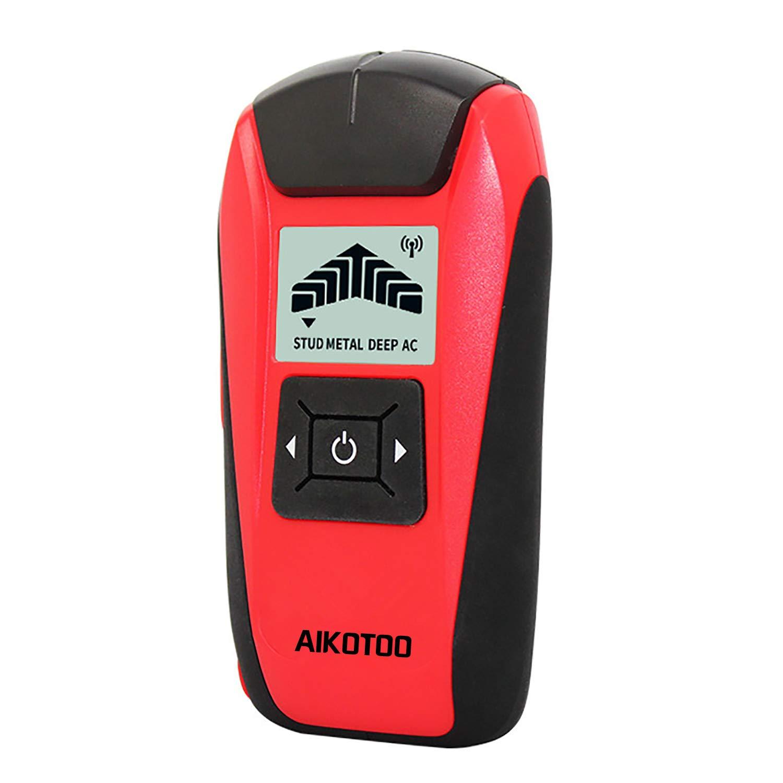 Magnetic Stud Finder Sensor, Aikotoo Wall Wood Stud Finder Detector Use for Live AC Wire, Metal, Deep Wall Studs Wood Stud Finder