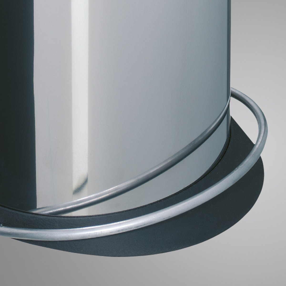 Color Beige Hailo 0516-570 Trento TOPdesign 16 litros Cubo de la Basura con Pedal