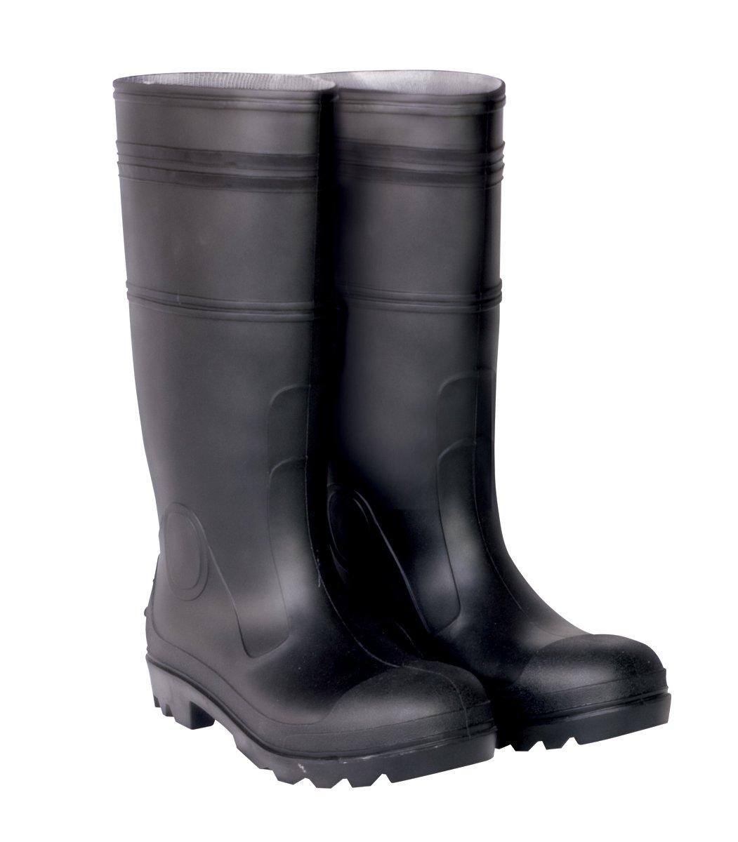 Amazon.com: CLC Rain Wear F23011 Over The Sock Black PVC Men&39s