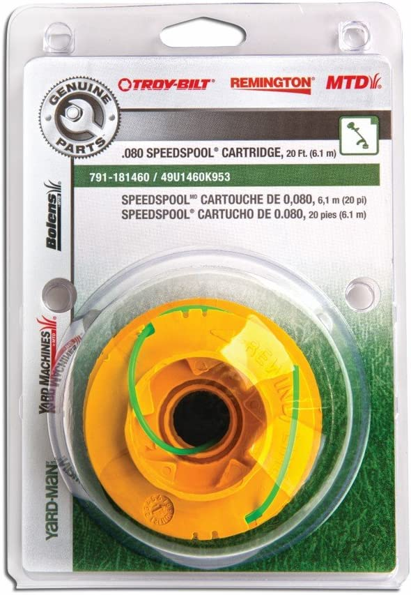 "MTD Genuine Parts .080"" SpeedSpool Trimmer Cartridge"