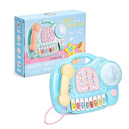 Máquina de educación temprana, juguete de simulación multifunción para niños, bebé, música ligera