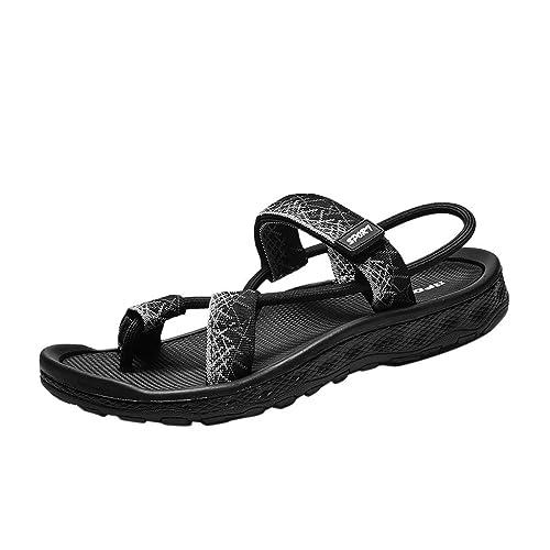 Calzado Chancletas Tacones Sandalias de Verano para Mujer,ZARLLE Sandalias con Plataforma de Tiras con Punta Cerrada para Mujer Zapatos Casuales Zapatos para Caminar por la Playa