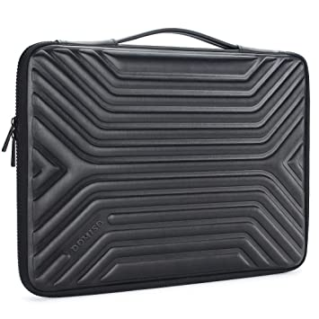 DOMISO 15.6 Inch Shockproof Waterproof Laptop Sleeve with Handle Lightweight Soft EVA Tablet Case for 15.6