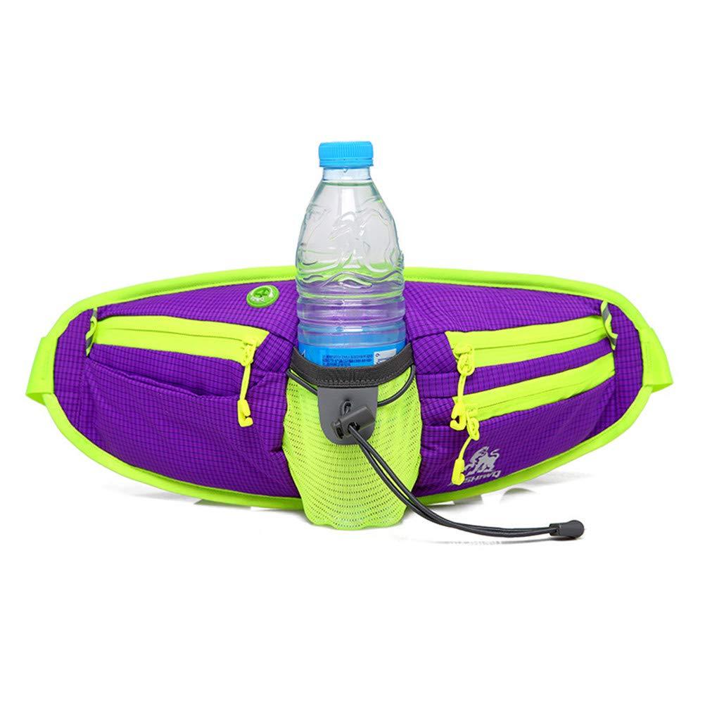 ZHRUI Marsupio Sportive Man Wasserdichte Marsipi Gürtel Frau Laufende Multifunktionsflasche Travel