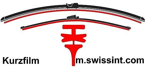 swissint goma de repuesto para Aero/flatblade Limpiaparabrisas