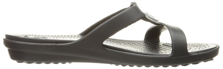 Cercle Sanrah Biseauté FemmesEur35Blackblack Crocs Sandale 6fyb7gY