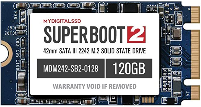 MyDigitalSSD Super Boot 2 (SB2) 42mm M.2 2242 NGFF SATA III ...